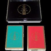 "Double Deck Brown & Bigelow ""American Export – Isbrandtsen Lines"" Maritime Playing Cards"