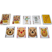 """Carta Mundi """"The Teddy Bear Pack of Playing Cards,"""" Transformation Playing Cards, Andrew J"""