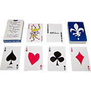 "Carta Mundi ""La Blanche"" Playing Cards, for Promo-Quebec, Friedland of Paris Publisher, .."