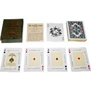 """SOLD USPC """"The Nile Fortune Cards"""" Fortune Telling Cards, c.1904"""