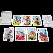 """Berliner Spielkartenfabrik """"Fuer Sicherheit I"""" (""""For Safety I"""") Playing Cards, Dutch R"""
