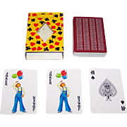 """SOLD Nintendo """"Brother"""" Playing Cards, Brother Industries, c.1978"""