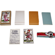 "Il Meneghello ""22 Arcani Fumatori"" (""Smokers"") Major Arcana Tarot Cards, Osvaldo Meneg"
