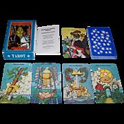 """SOLD Morgan Press """"Morgan-Greer Tarot"""" Tarot Cards, William Greer Illustrations w/ Lloyd M"""