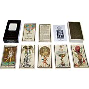 "SOLD AG Muller ""The Medieval Scapini Tarot"" Tarot Cards, Luigi Scapini Designs, c.1985"