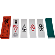 """Solleone """"Napoleone"""" Playing Cards, Studio Tratto di Menegazzi Designs, c.1971"""