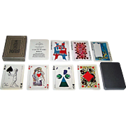 "Grimaud ""Jeu des Peintres"" Playing Cards, 19 Contemporary Artists Designs, c.1973"