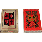 "SOLD 2 Russia State Printing Works 52-Card Decks of Playing Cards, $15/ea., c.1971: (i) ""The"