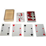 "Nintendo ""Yamatake Data Products Binary"" Playing Cards, c.1970s"