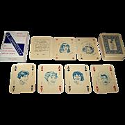 """Menotti Cossu """"La Combriccola"""" Playing Cards, Salvatore Coniglio Designs, Ltd. Ed. (64/450"""