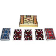 "SOLD Double Deck Piatnik ""Jugendstil Art Nouveau"" Playing Cards, Ditha Moser Designs, c.19"