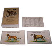 """SOLD """"Animalosities"""" Card Game, Dennis """"Dainty Series"""" G675, c.1930"""