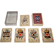 "Speelkaarten Fabriek Nederland ""Maritime"" Playing Cards, c.1938"