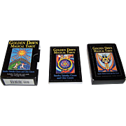 "Carta Mundi ""Golden Dawn Magical Tarot"" Tarot Cards, Llewellyn Publications Publisher, San"
