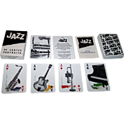 "Grimaud ""Jazz"" Playing Cards, Yannick Pennanguer Designs, c.1989"