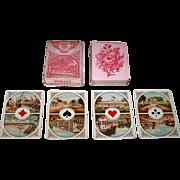 """Dondorf No. 17 """"Java Speelkaarten"""" Playing Cards, Gumprich & Strauss Variant 2, c.1879"""