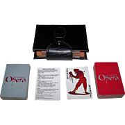 "Double Deck San Francisco Opera ""Opera"" Playing Cards, Maker Unknown, Patricia Zipprodt De"