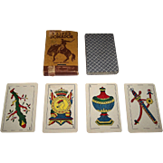 "Cia General Fabril Financiera S.A. ""Domador"" Playing Cards, c.1950"