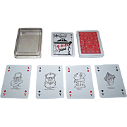"Coeur ""9-11-89 Passé"" Skat Playing Cards, Rainer Schwalme, c.1990"