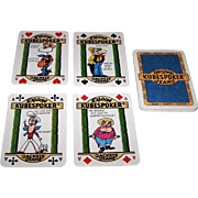"""Kubespoker"" Advertising Playing Cards (20) for Poker Jeans and Jackets, Royal Flush Poker"