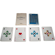 "SALE PENDING Samjac ""Feh"" Adv. Playing Cards, ""Schnapskarten"" (24 Cards),"