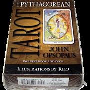 "Llewellyn ""The Pythagorean Tarot"" Tarot Cards, John Opsopaus Creation, RHO Illustrations"