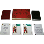 "Double Deck Grimaud ""Napoléon"" Playing Cards, 200th Anniversary of Napoleon's Birth, .."
