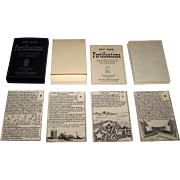 "Edizioni del Solleone ""Jeu des Fortifications"" Playing Cards, Limited Edition (222/600), c"