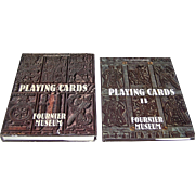 "Felix Alfaro Fournier, 2-Volume Work (English), Books: ""Playing Cards,"" c.1982 and ..."