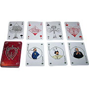 """Germany """"Richard Wagner"""" Playing Cards, Maker Unknown, Artist Unknown"""