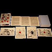 """Carta Mundi Facsimile """"Baron Athalin"""" Transformation Playing Cards, [Baron Athalin Designs"""