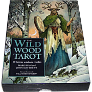 "Sterling Ethos ""Wildwood Tarot"" Tarot Cards w/ Book, Mark Ryan and John Matthews Conceptio"