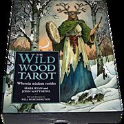 """Sterling Ethos """"Wildwood Tarot"""" Tarot Cards w/ Book, Mark Ryan and John Matthews Conceptio"""