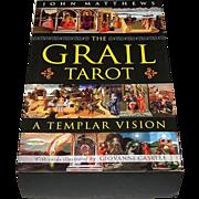 "St. Martin's Press ""The Grail Tarot: A Templar Vision"" Tarot Cards w/ Book, John Matthew"