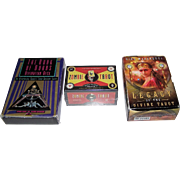 """3 Sets of Tarot/Fortune Cards, $10/ea.: (i) Destiny """"Book of Doors Divination Deck""""; (ii)"""