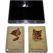 "Double Deck USPC RCI ""Chessie and Peake"" Railroad Playing Cards, Chesapeake and Ohio"