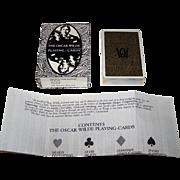 "Grimaud ""Oscar Wilde"" Playing Cards, Presage International Publisher, Richard Ellman ..."