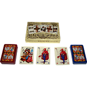 "Double Deck KZWP-Trefl ""Jagiellonskie"" Playing Cards, Jan Matejko Paintings, Maria Orowska"