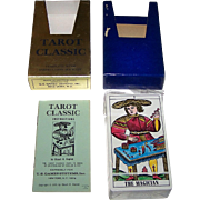 """AG Muller """"Tarot Classic"""" Tarot Cards, U.S. Games Systems Publisher, c.1971"""
