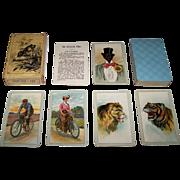 "SALE PENDING Dondorf ""Der Schwarze Peter"" Card Game No. 330, c.1905"