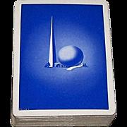 "Parker Bros. ""Uncle Foster's World's Fair Game"" Quartet Card Game (51/52, EC), 1939 .."