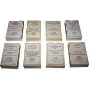 "8 Decks Harry Margary Facsimile Cards, $10/ea.: (i) ""Fortune Telling""; (ii) ""Arms of ..."