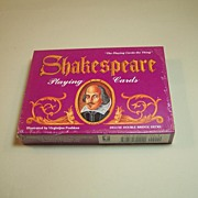 Double Deck of Carta Mundi (U.S. Games) Shakespeare Playing Cards, Virginijus Poshkus Illustra