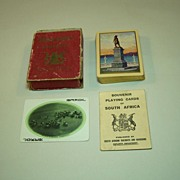 "USPC ""Souvenir Playing Cards of South Africa,"" South African Railways and Harbours Publish"
