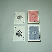 SOLD Double Deck Atlantic Playing Cards (USPC), c.1910
