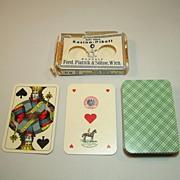 "Piatnik ""Kasino-Pikett"" Playing Cards, Skat Deck, Viennese Large Crown Pattern, w/ Wrapper"