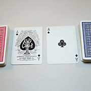 "SOLD Double Deck A. Dougherty ""American Whist League No.109"" Playing Cards, c.1895"