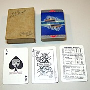 "De La Rue ""Peninsular & Oriental Steam Navigation Company"" Playing Cards, R.M.S. Mongolia,"