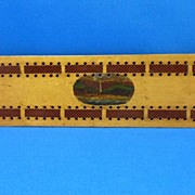 Tartan Ware Cribbage Board – Isle of Wight