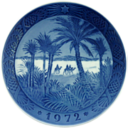 1972 Royal Copenhagen Christmas Plate